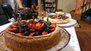 4 birthday cakes